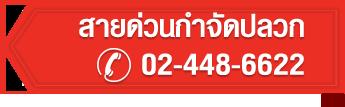 สายด่วนกำจัดปลวก 024486622